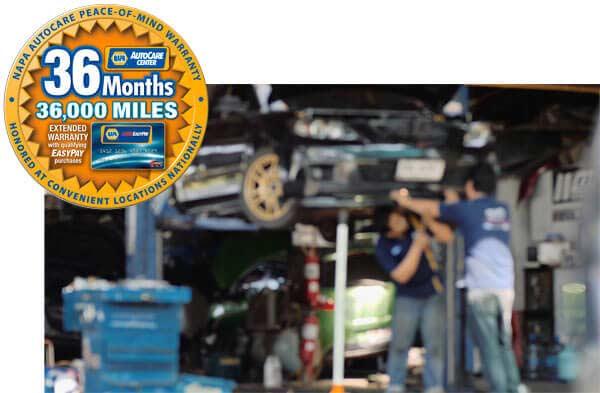 Phoenix car repair shop with NAPA AutoCare credit financing
