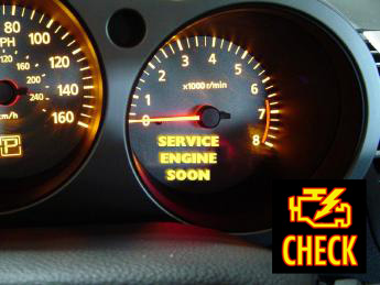 Engine diagnostic check for service engine soon light in Phoenix